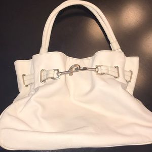 The Limited white purse and matching wallet 👛